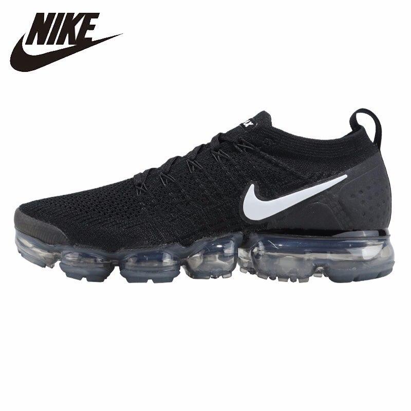 NIKE VAPORMAX FLYKNIT nouveauté originale hommes chaussures de course sport respirant baskets de plein air #942842-001