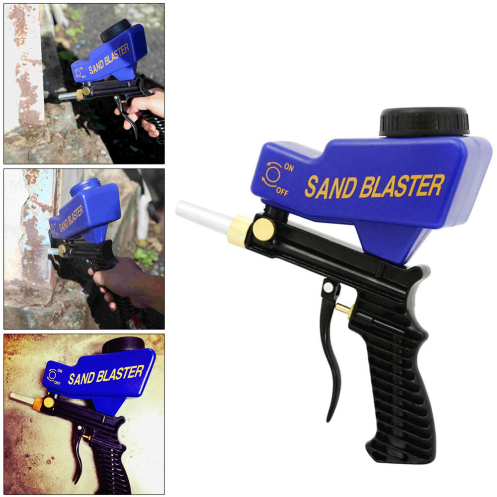 Anti Rust Protection Sand Blaster Machine Save Unnecessary Surface Material Adjust Sandblast Flows Change Nozzles Spray Gun B4