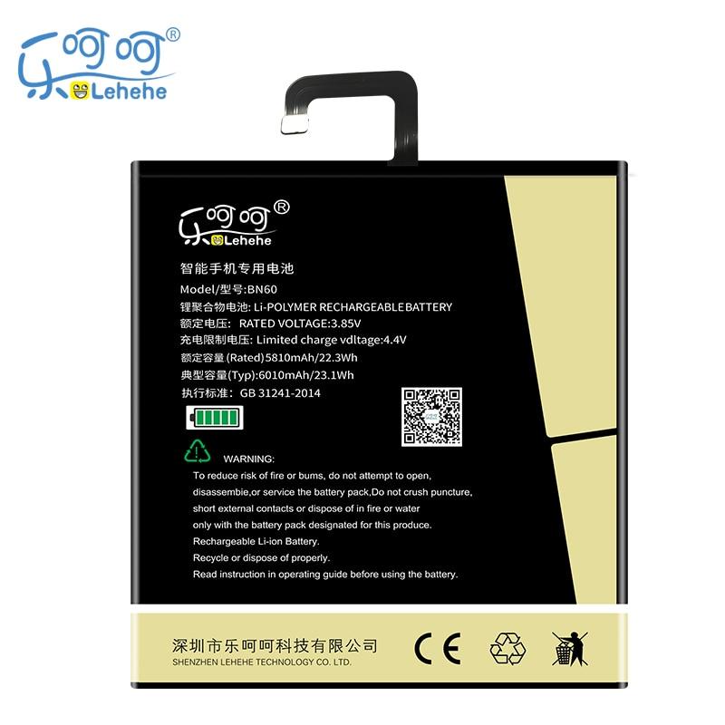 2019 nouvelle batterie d'origine LEHEHE BN60 pour Xiaomi Pad 4 MiPad4 6000mAh batterie de tablette de haute qualité avec des outils cadeaux