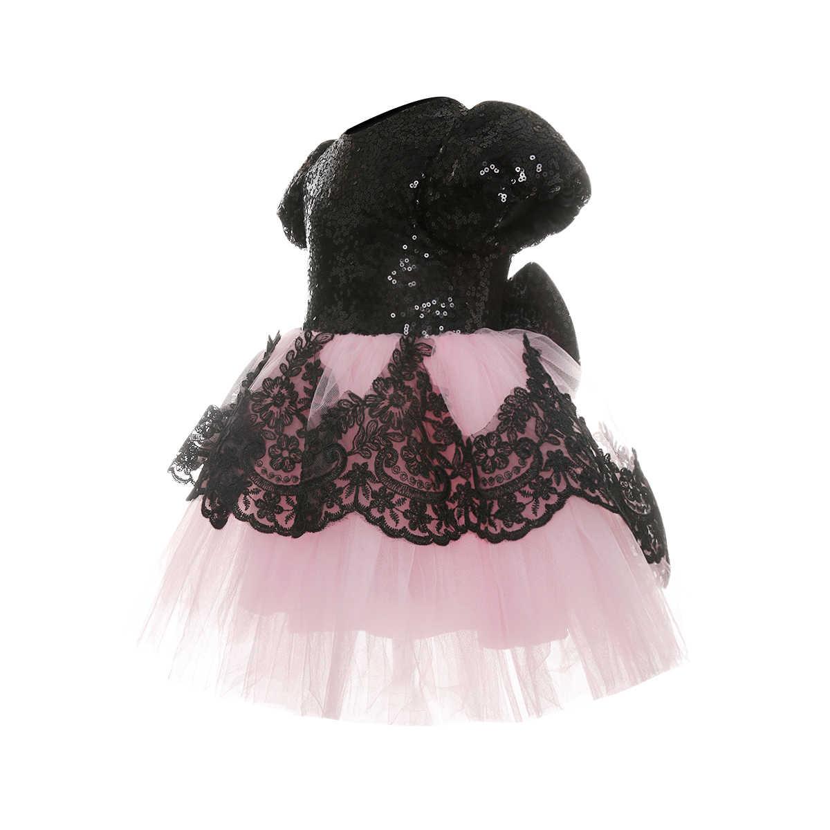 Vestido de bebé de princesa para chico, tutú de encaje para niñas, boda, desfile Formal, fiesta, vestido de dama de honor de tul, vestido para niños