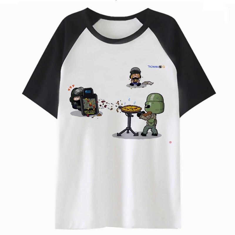 Rainbow Six Siege T Shirt Hip Top Harajuku Clothing T-shirt Hop Male Streetwear Tee Men Funny For Tshirt H2227