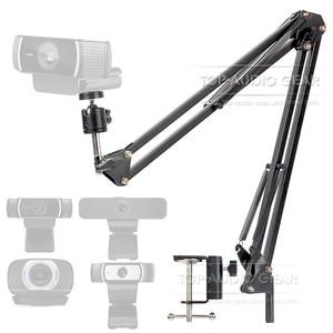 Image 1 - Desktop Sospensione Boom Braccio Mic Stand Scissor Morsetto Per Montaggio Per Logitech Webcam C922 C930e C930 C920 C615 C 922 930 e 930e 920 615