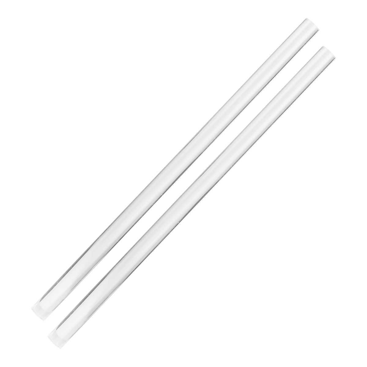 20pcs Od15x1000mm Acrylic Clear Rod Extruded Home