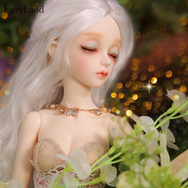 Fairyland Minifee EVA 1/4 BJD SD Dolls Model Girls Boys Eyes Fashion Mini Toys Shop Resin Figures FL