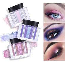 Glitter Shimmer Matte Single Eyeshadow Powder Cream Palette Smoky Waterproof Long-Lasting Eye Shadow Makeup Cosmetic eye shadow palette cream best makeup women eyeshadow