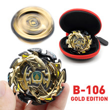 Gold Edition Beyblade Burst Toy B-122 No Launcher and Box Babled Metal Fusion Rotate Top Bey Blade Blade Child Boy Toy Gift(China)