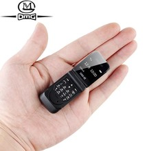 Kleine Mini Clamshell Flip Mobiele Telefoon Knop Bluetooth Dialer Magic Voice Handsfree Oortelefoon Enkele Sim LONG CZ J9 Gsm