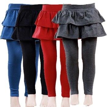 836d6b9cf Niños Leggings muchacha Pantalones falda Pantalones Niñas pastel Tutu falda  del bebé Encaje ...