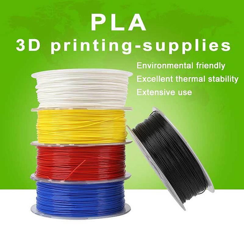 Creality 3D PLA Filament 1.75mm Plastic For 3D Printer 1kg/Roll 1.75mm PLA Filament 3D Printing Materials Colorful