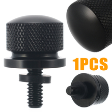 1PCS Stainless Steel Motorcycle Seat Screw Cover Bolt Billet for H-arley S-portster Street Glide Black