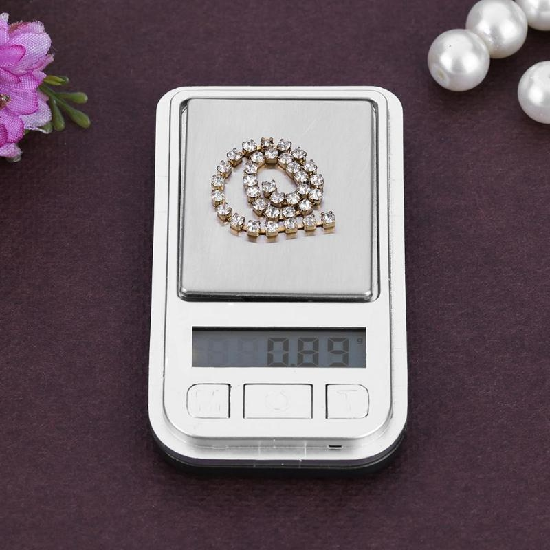 Portable Mini Electronic Digital Scales Kitchen Jewelry Weight Scale 200g