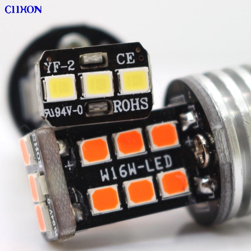 2PCS 1156 Ba15s P21w Bau15s 15 SMD LED lampalar 7506 1141 Avtomatik - Avtomobil işıqları - Fotoqrafiya 2