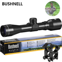 BUSHNELL Hunting 4x32 Airsoft Optical Rifle Scope Sight With Rail Mount Precise Lens