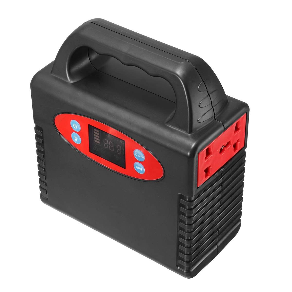 50000mAh 100W Portable Solar Generator Power Supply Inverter Emergency UPS Power Source Generator Power Station Outdoor Camping