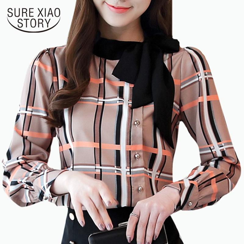fashion woman   blouses   2018 long sleeve   shirt   women plus size   blouses   women clothing female palid   blouse     shirt   top blusas 1285 40