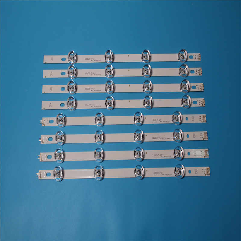 "807 Mm LED Backlight Lampu Strip 8 LED LG 39 Inch TV 390HVJ01 Lnnotek DRT 3.0 39 ""39LB5610 39LB561V 39LB5800 39LB561F DRT3.0"