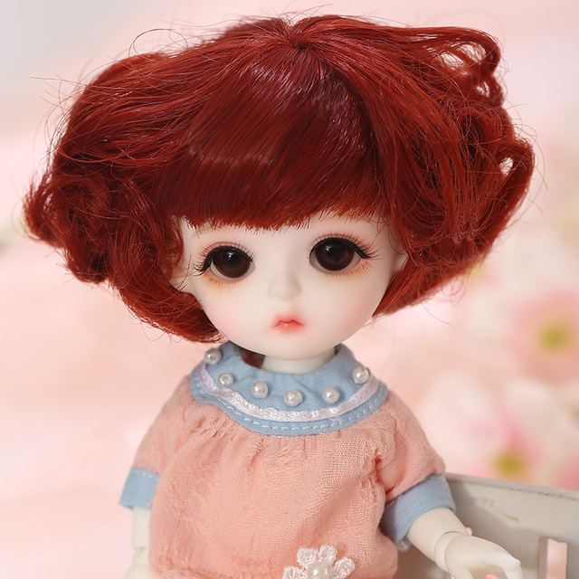 LCC Baby Miu 1/8 BJD SD Resin Figures Model Baby Dolls Eyes High Quality Gifts For Christmas Or Birthday