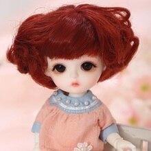 Lcc bebê miu 1/8 bjd sd resina figuras modelo de bonecas do bebê olhos presentes de alta qualidade para o natal ou aniversário
