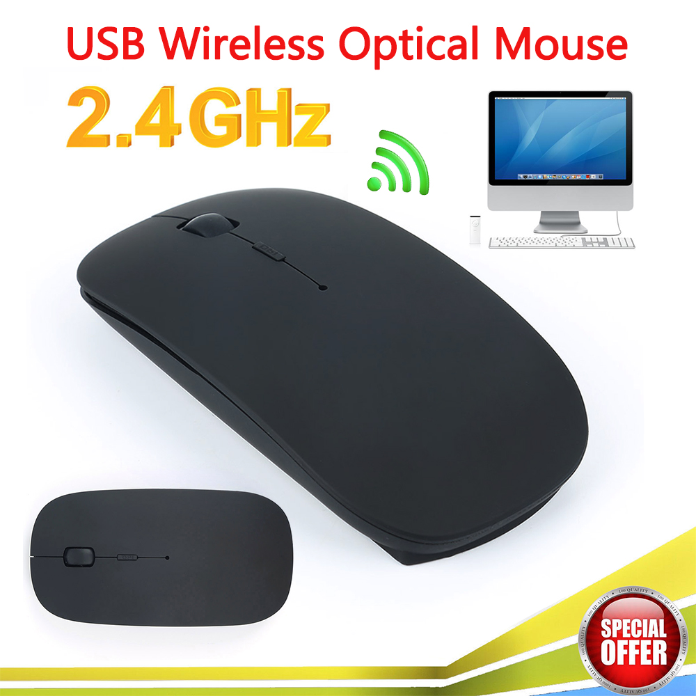 Slim Mouse Tablets Laptop Notbook Computer Bluetooth-3.0 Wireless 1 for Xp/vista Android