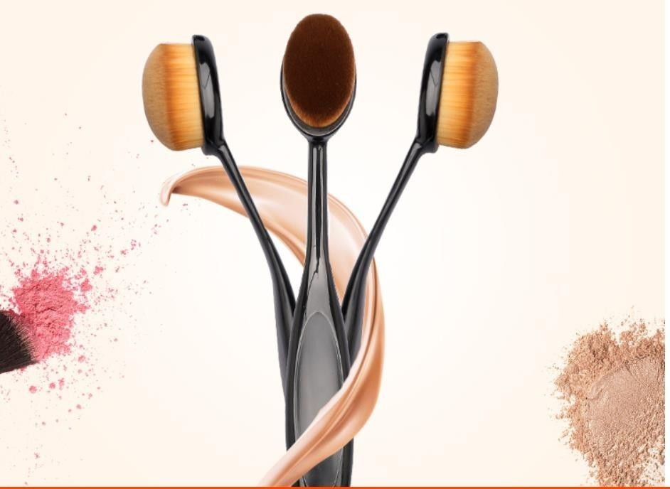 Cosmetics Tool Toothbrush Form Foundation Make-up Brush One 's Teeth Brush Makeup Brush Bb Foundation Make-up Makeup Brush image