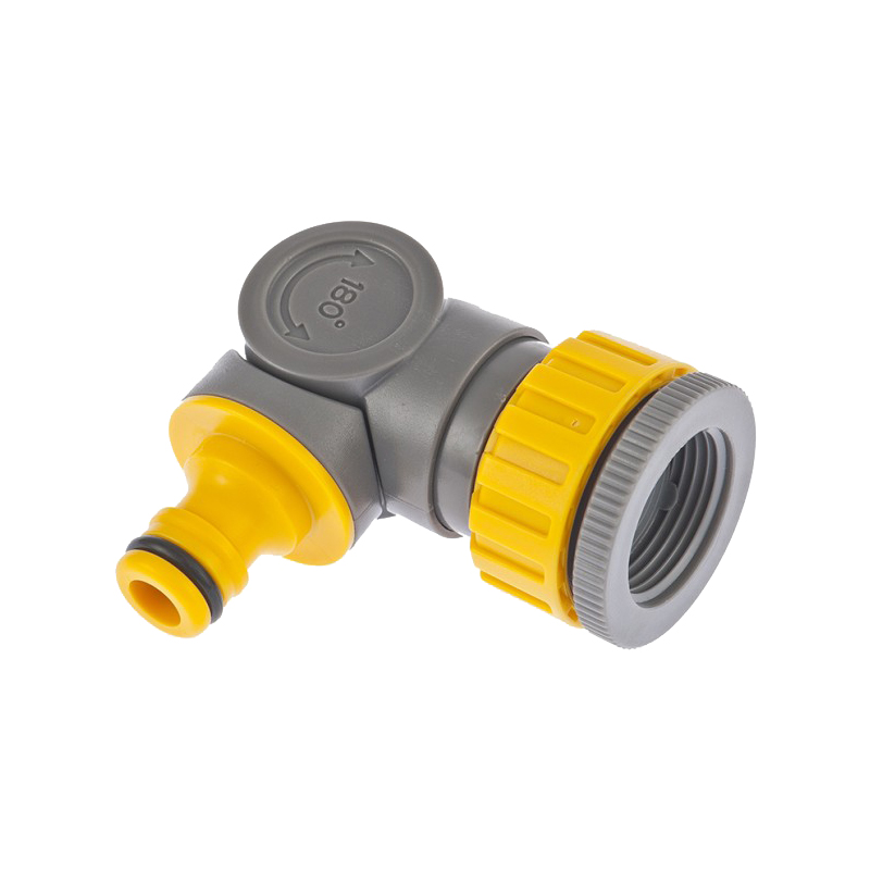 Garden Water Connectors PALISAD 66247 /2-3/4 Plastic Threaded Tap Connectors insulated ring copper terminal connectors red silver 4 3mm 100pcs