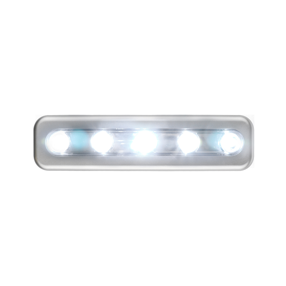Mini Led Tap Lights 5 Leds Self-stick Wireless Wall Lamp Emergency Wardrobe Cabinet Push Night Light Closet Light Lights & Lighting