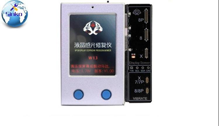 Sensore di Luce Ambientale Vibratore Macchina di Riparazione LCD IP DISPLAY Programmatore di EEPROM per il iphone 7 P 8 8 P X XSSensore di Luce Ambientale Vibratore Macchina di Riparazione LCD IP DISPLAY Programmatore di EEPROM per il iphone 7 P 8 8 P X XS