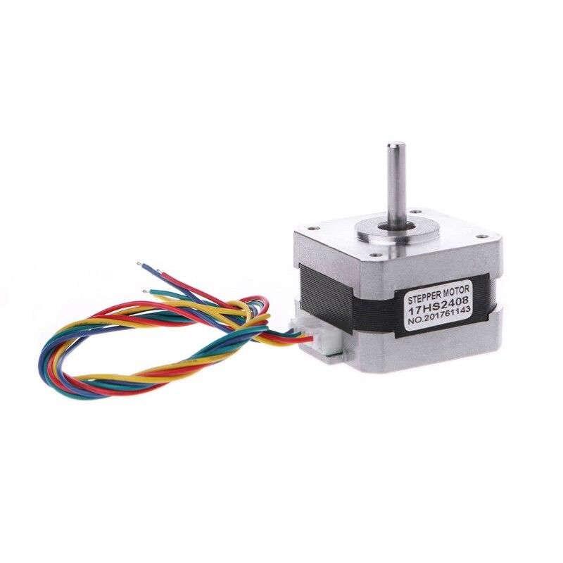 17Hs2408 0.6A 12Ncm 17 Bipolar Stepper Motor 4-Lead 4 Wire Cnc 3D Printer