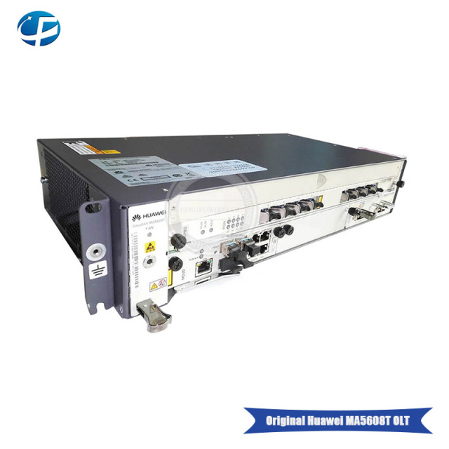US $1312 0 20% OFF|Aliexpress supplier HUAWEI GPON OLT MA5608T DC 1*MPWC  Power Line Optical Terminal + 1*MUCD 1G control board+8 PORTS GPBD C+OLT-in