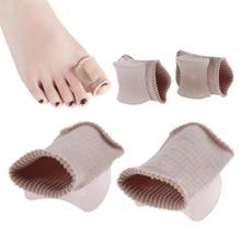 1 Pair Big Toe Separator Tube Bandage Toe Finger Hallux Valg