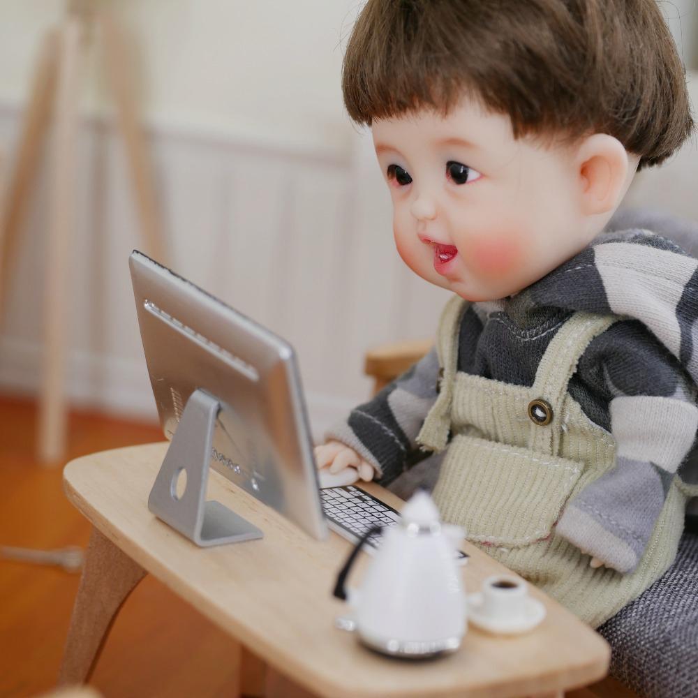 1//12 Scale Ob 11 Mini Computer Sets Doll House Mini AccessoriS!