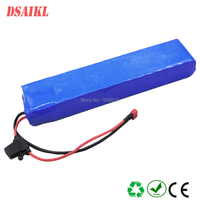 Customized replace lithium 36V 10Ah for 36volt e twow escooter battery pack with charger