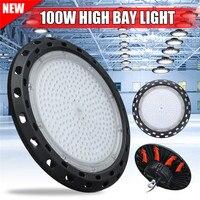 Super Bright 100W Industrial LED High Bay Light 20000LM IP65 Retrofit Highbay Lamp Fixture LED Warehouse Light AC85 265V