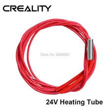 Creality 3d fonte original tubo de aquecimento reprap 24v 40w para Ender-3 Ender-3 pro