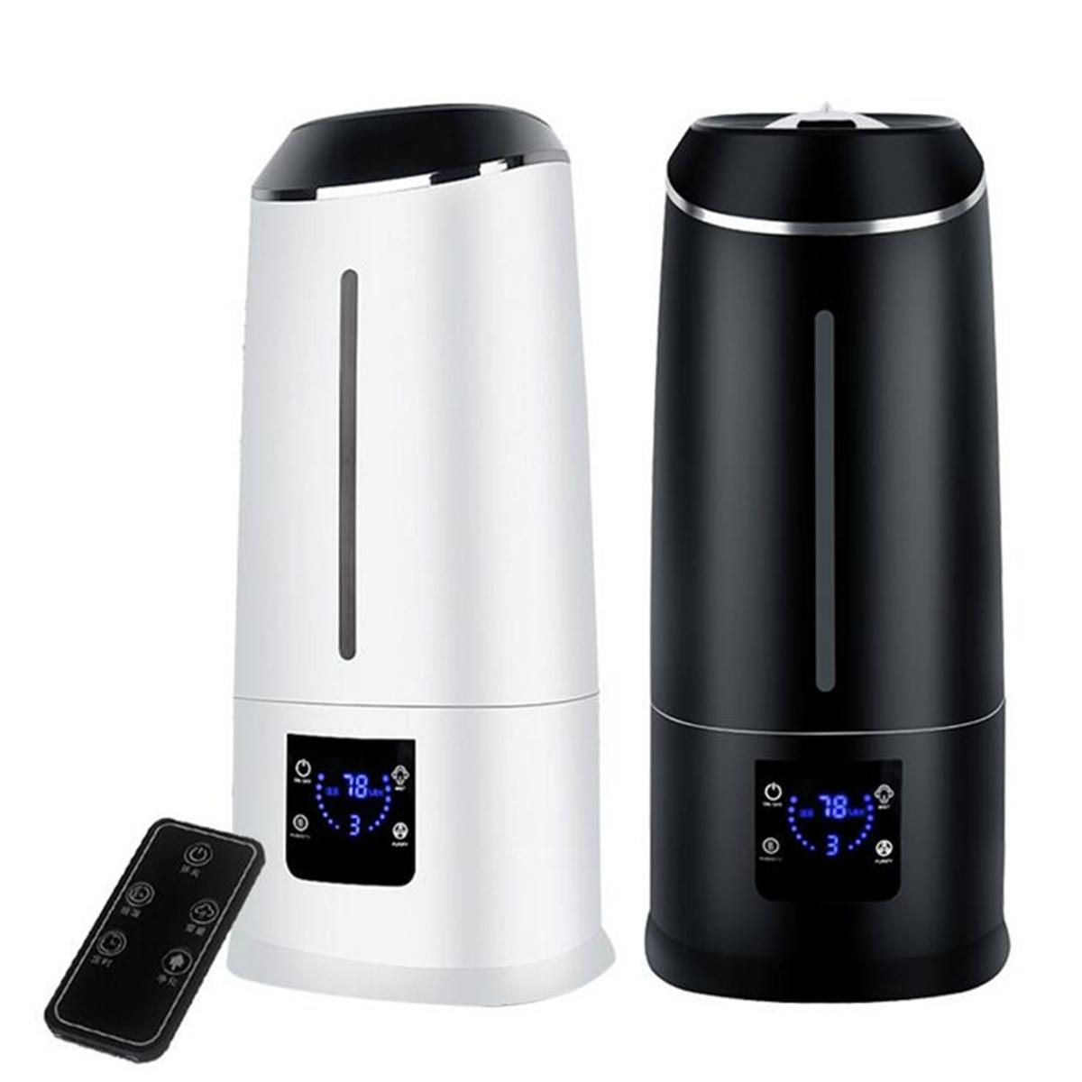 6.5L Smart Ultraschall Luft Verdunstungsbefeuchter Fernbedienung Aroma Diffusor LCD Screen Nebel Maker Fogger Timing Luftreiniger