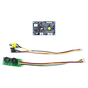 Image 2 - สำหรับ 7 นิ้วหน้าจอ LCD อินพุต CVBS CONTROLLER BOARD สำหรับ 26Pin อินเทอร์เฟซ TTL หน้าจอ LCD HSD070I651 AT070TN07 480x234 ความละเอียด