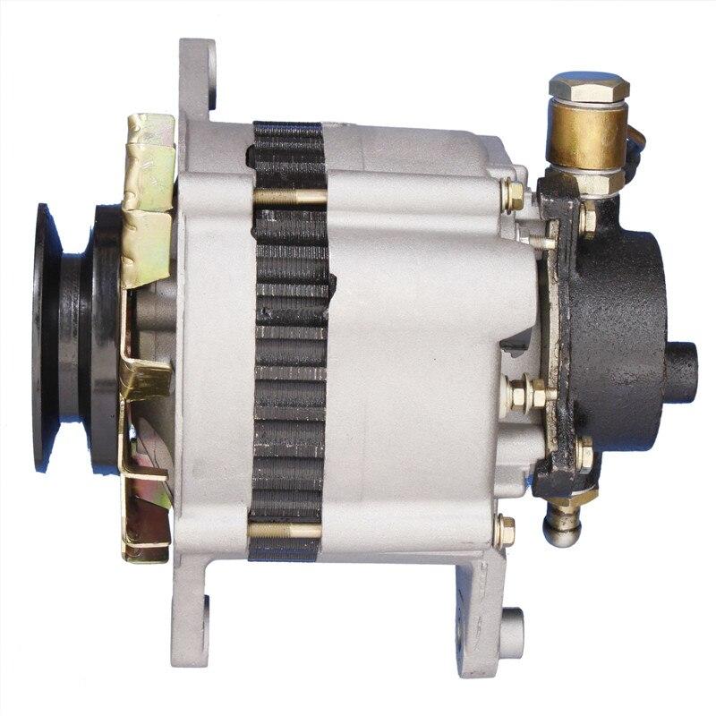 ใหม่ 24 V 35A เครื่องกำเนิดไฟฟ้ากระแสสลับ LR225-408C, LR225-408E JFZB235A เครื่องกำเนิดไฟฟ้าอุปกรณ์เสริมสำหรับ ISUZU เค...