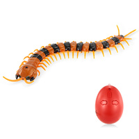 Infrared Remote Control Simulation Scolopendra Horrible Centipede Insects Bugs RC Animal Toy Gift for Kids Remote Control Toys