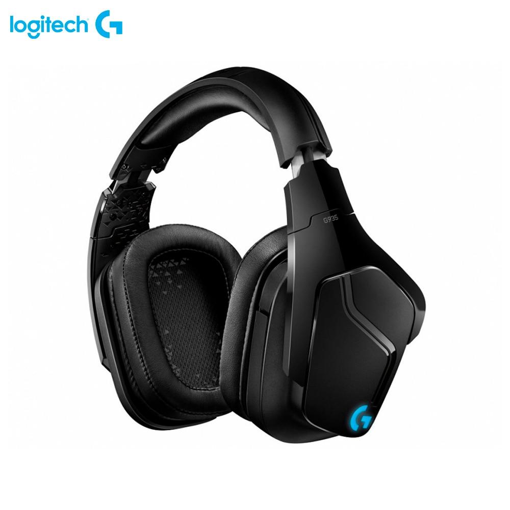 Earphones & Headphones Logitech G G935 981-000744 computer wireless headset gaming esports FPS DOTA2 dota2