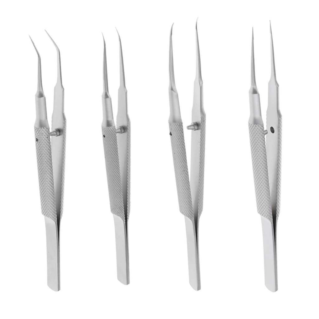 STAINLESS STEEL 4.5 L BEST QUALITY FINE POINT TIPS G.S PREMIUM HIGH PRECISION JEWELER STYLE FORCEPS #5 TWEEZERS
