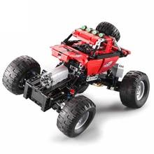 489 PCS Technic Series RC Car Model sports Toys Remote Control SUV DIY Building Blocks Brick For Children Gifts