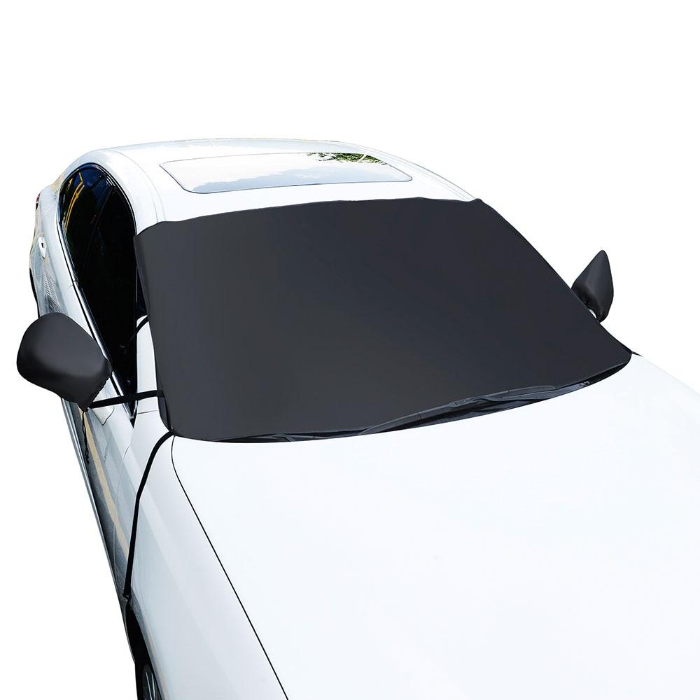 Vehemo Снежная крышка авто солнцезащитный козырек лобовое стекло Солнцезащитный козырек Солнцезащитный щит крышка блок крышка протектор для снега Зимний автомобиль солнцезащитный козырек