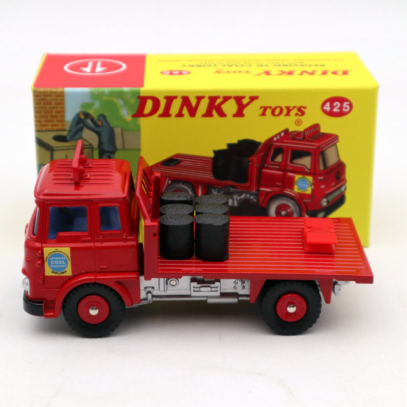 Atlas Dinky Toys 425 Beford TK Coal Lorry With Coal Sacks And Scales Diecast Models Car Limited Edition Collection