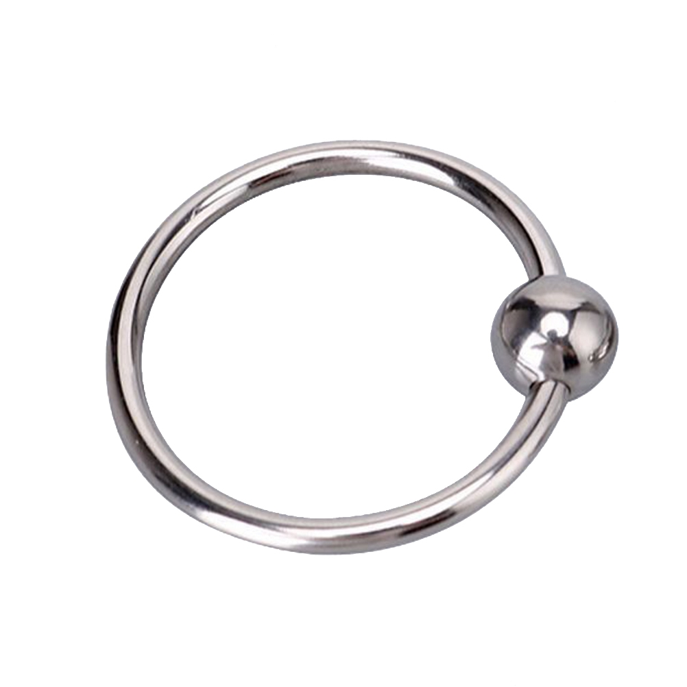 Cock Rings Stainless Steel Penis Rings Erection Enhancing Rings Sex Toys