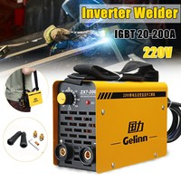 for Welding Working and Electric Working ZX7 200 IGBT 20 200A 220V Inverter Arc Electric Welding Machine MMA/ARC Welders