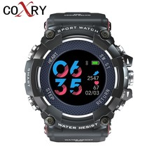 COXRY Color Smart Watches Men Heart Rate Monitor Sports Watches For Running Pedometer Men Digital Watch Waterproof Smartwatch