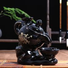 Porcelain Backflow Incense Burner Smoke Waterfall Holder Ceramic Aromatherapy Furnace Mountain River Handicrafts