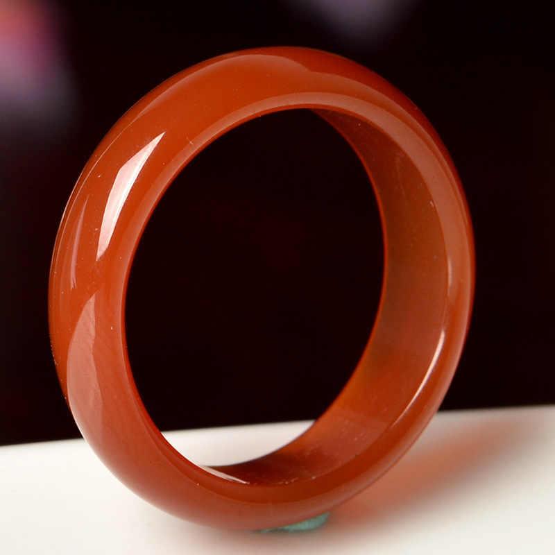 925 Silver Pearl Murano แก้วแหวนหินหยกธรรมชาติ Chalcedony สีเขียวสีแดง Bule แหวน Fidget Fit จี้แหวนผู้หญิง