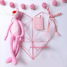 Home Bedroom DIY Metal Heart-shaped Photo Grid Frame Wall Photos Grids Postcards Mesh Frame Decoration Iron Storage Rack Holder