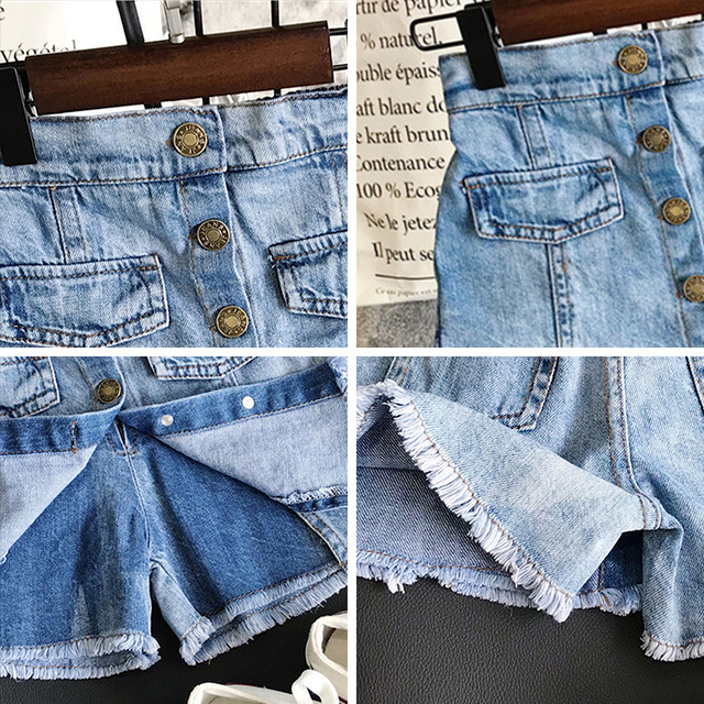 Girls' Casual Cotton Shorts